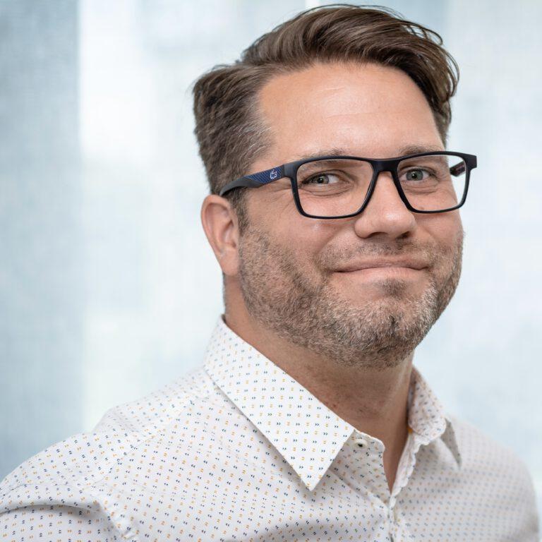 Martin Noack mit Brille